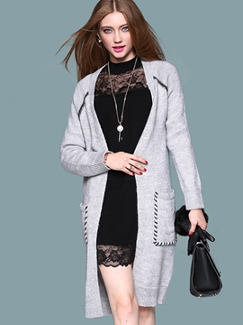 Ericdress Loose Wrapped Casual Cardigan Knitwear
