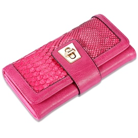Ericdress Rose Serpentine Pattern Long Purse