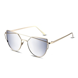 Ericdress Anti-UV400 Polarized Aviator Sunglasses