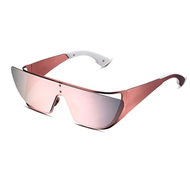 Ericdress Pink Lens Full Frame Polarized Women's Sunglasses