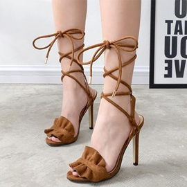 Ericdress Modern Purfle Open Toe Stiletto Sandals