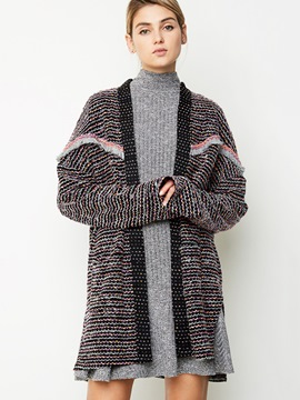 Ericdress Casual Color Block Knitwear