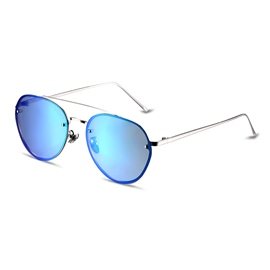 Ericdress Blue HD Lenses Full Frame Polarized Sunglasses