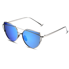 Ericdress Twin-Beams Metal Frame Classic Polarized Sunglasses