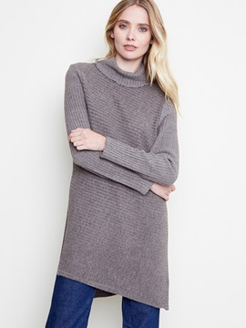 Ericdress Loose Turtleneck Mid-Length Knitwear