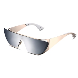 Ericdress TAC Lenses Golden Frame Polarized Sunglasses