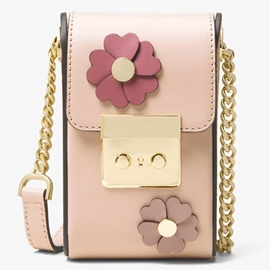 Ericdress Stereo Floral Decorated Mini Crossbody Bag