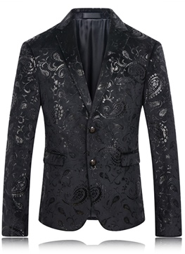 Ericdress Vogue Pattern Quality Gentlemen's Blazer